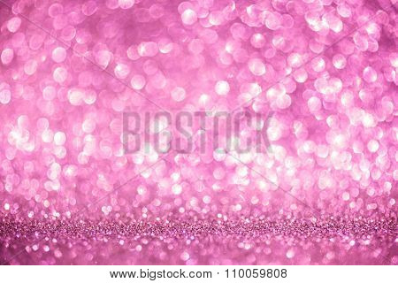 Valentine shiny abstract pink background.
