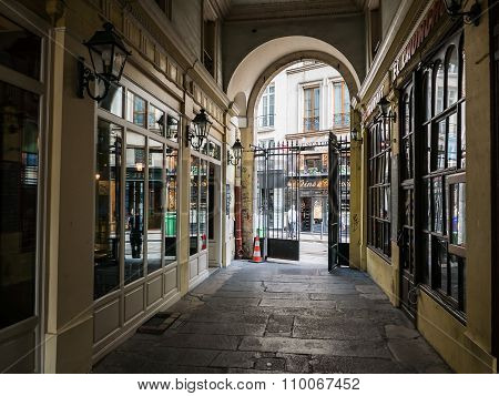 Paris Shopping Arcade