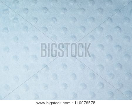 The convex structure of the cotton fabric in the shape of circles