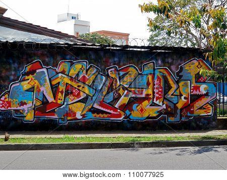 Wildstyle graffiti