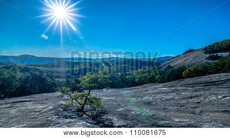 Stone Mountain State Park In North Carolina