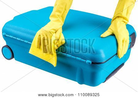Hands Clean Suitcase