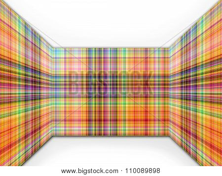 Abstract Perspective Patter Background