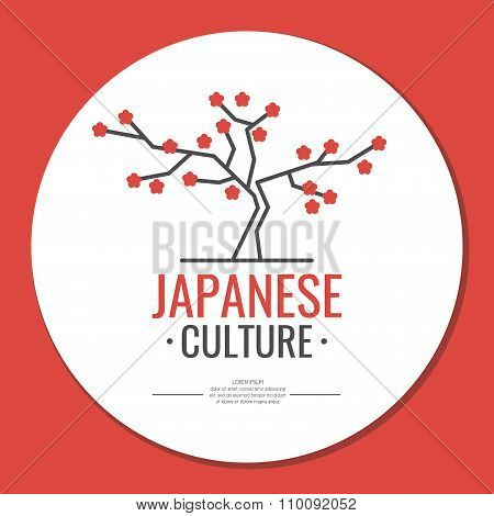 Poster. Japanese Culture. Symbol Of Japan.