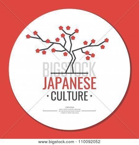 Poster. Japanese Culture. Symbol Of Japan.