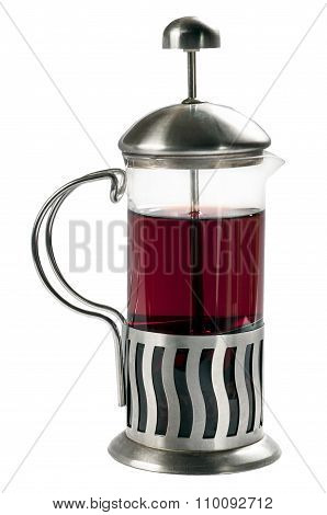 French Press With Tea .1