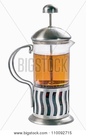 French Press With Tea .2
