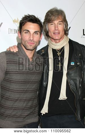 LOS ANGELES - NOV 30:  Erik Fellows, Ronn Moss at the Screening Of LANY Entertainment's