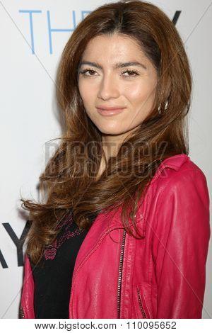LOS ANGELES - NOV 30:  Blanca Blanco at the Screening Of LANY Entertainment's