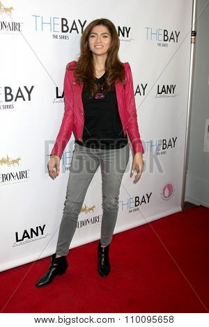 LOS ANGELES - NOV 30:  Blanca Blanco at the Screening Of LANY Entertainment's