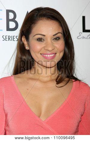 LOS ANGELES - NOV 30:  Sarah Adela Tirado at the Screening Of LANY Entertainment's