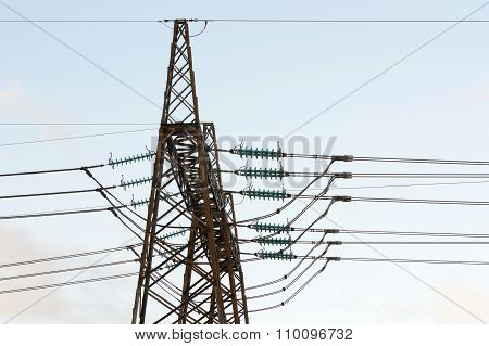 Power Electricity Pylon