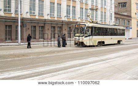 Inner City Urban Tram