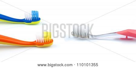 Color Toothbrushes