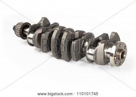 Crankshaft Of A Car Engine.