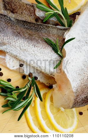 Raw Fish Hake