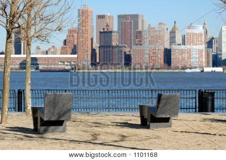 Part Of Manhattan Skyline