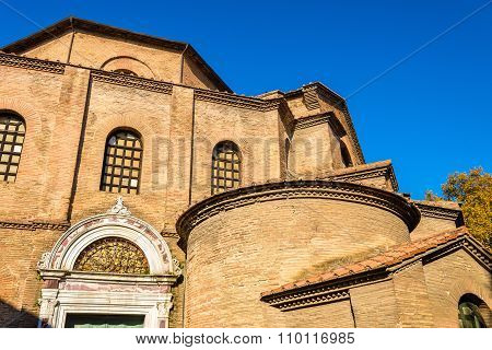 The Basilica Of San Vitale In Ravenna, Italy