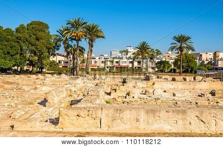 Ancient Kition, An Archaeological Site In Larnaca - Cyprus