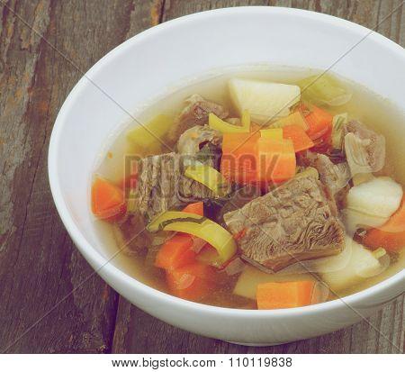 Rustic Beef Soup