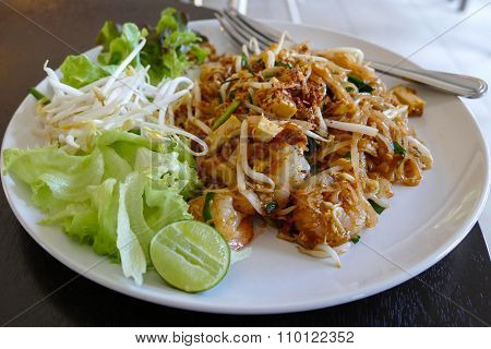 Pad Thai - Thailand Traditional Stir Fry Noodle