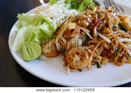 Pad Thai - Thailand Traditional Stir Fry Noodle