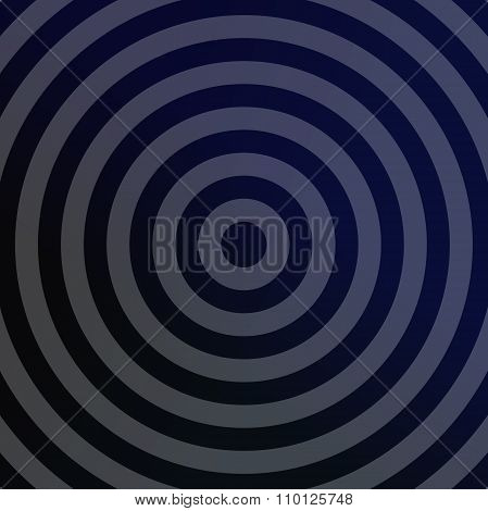 Silver metallic background with concentric circles