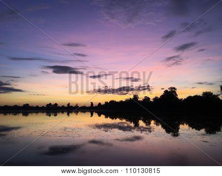 Srah Srang. Angkor. Siem Reap. Cambodia