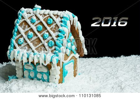 Gingerbread House And Number 2016
