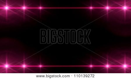 Spotlight Array Effect Red Color