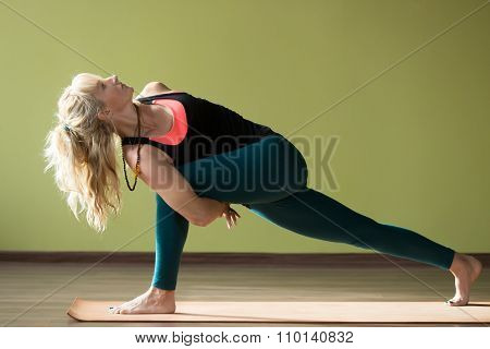 Variation Of Revolved Side Angle Pose