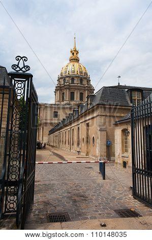 Chapel Of Saint Louis Des Invalides .
