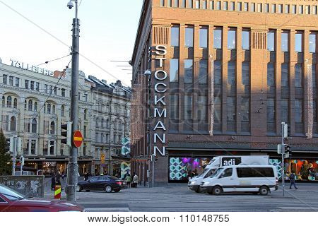 Flagship Stockmann Store In Helsinki
