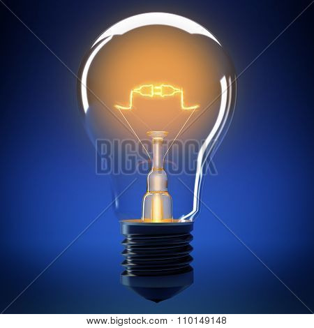 Bulb light connection