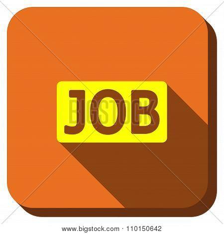 Job Title Longshadow Icon