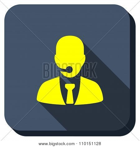 Reception Operator Longshadow Icon