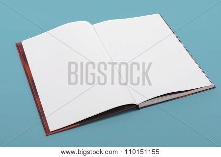 Blank Open Book