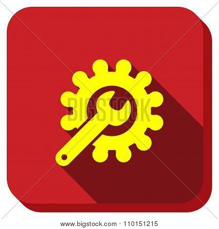 Repair Service Longshadow Icon