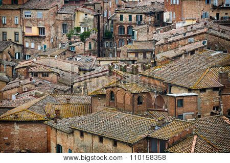Siena Colored Roofs And Walls