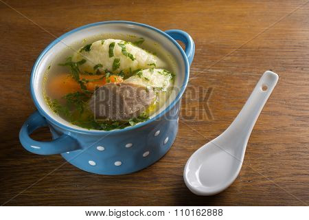 Chicken Soup With Dumplings