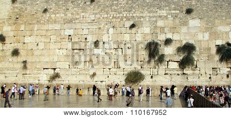Female and Male Separated Areas at The Western Wall
