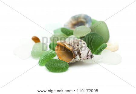 Sea Glass And Shells