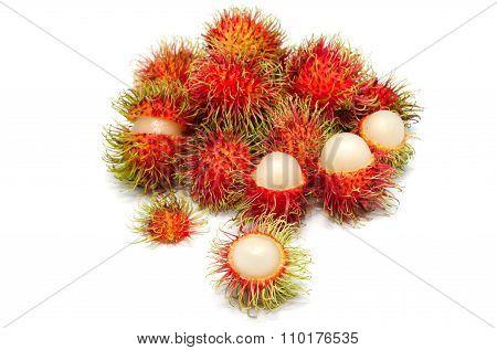 Rambutan Fruit ,thai Fruit Favorite.