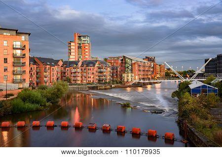 River Aire Leeds