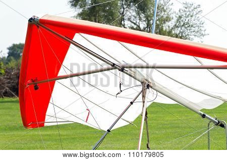Hang Glider Closeup