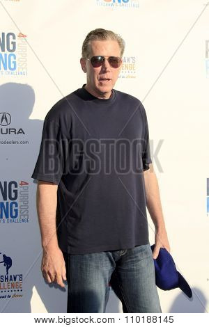 LOS ANGELES - JUL 30:  Orel Hershisher at the Clayton Kershaw's 3rd Annual Ping Pong 4 Purpose at the Dodger Stadium on July 30, 2015in Los Angeles, CA