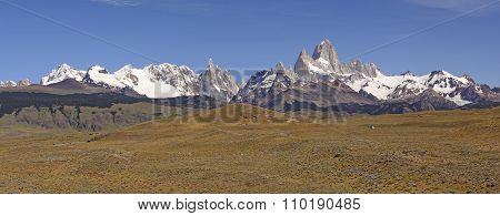 Patagonian Mountain Panorama