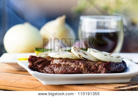 Steak And Onions