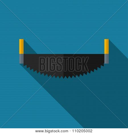 Vector color flat saw. Industrial equipment