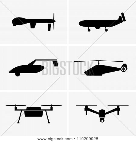 Drone aircraft